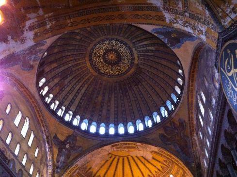 Dome of Aghia Sophia
