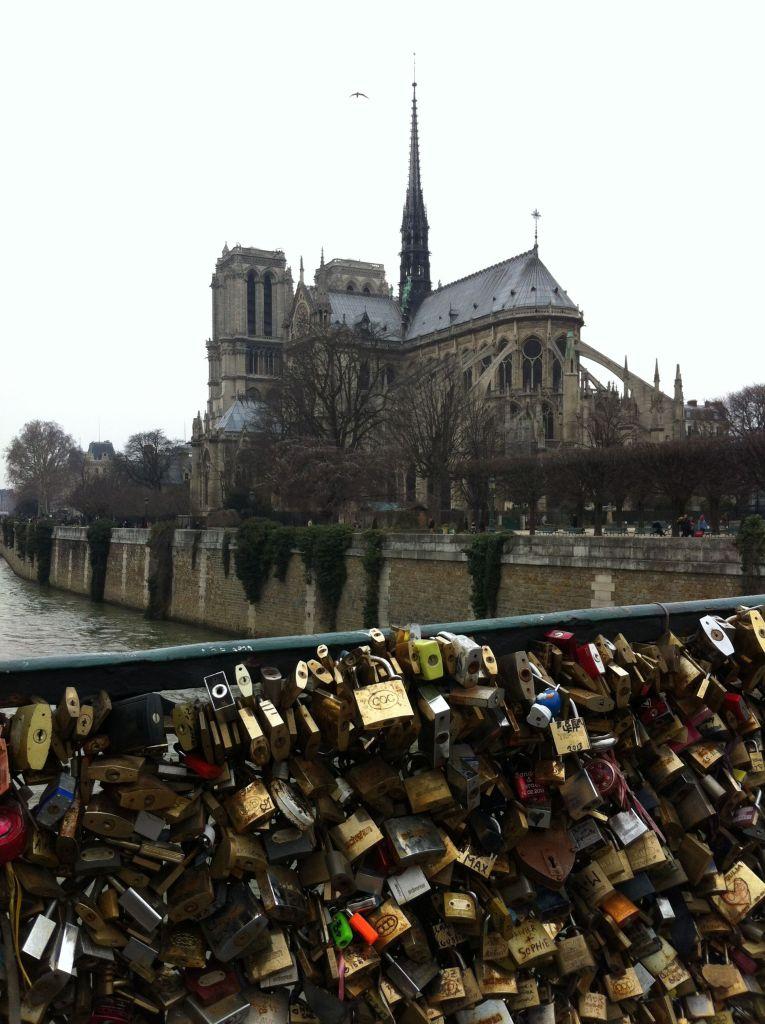 Notre Dame from Pont des Arts
