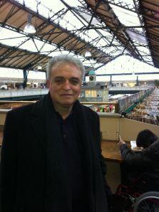 Adnan Özer in Cardiff market