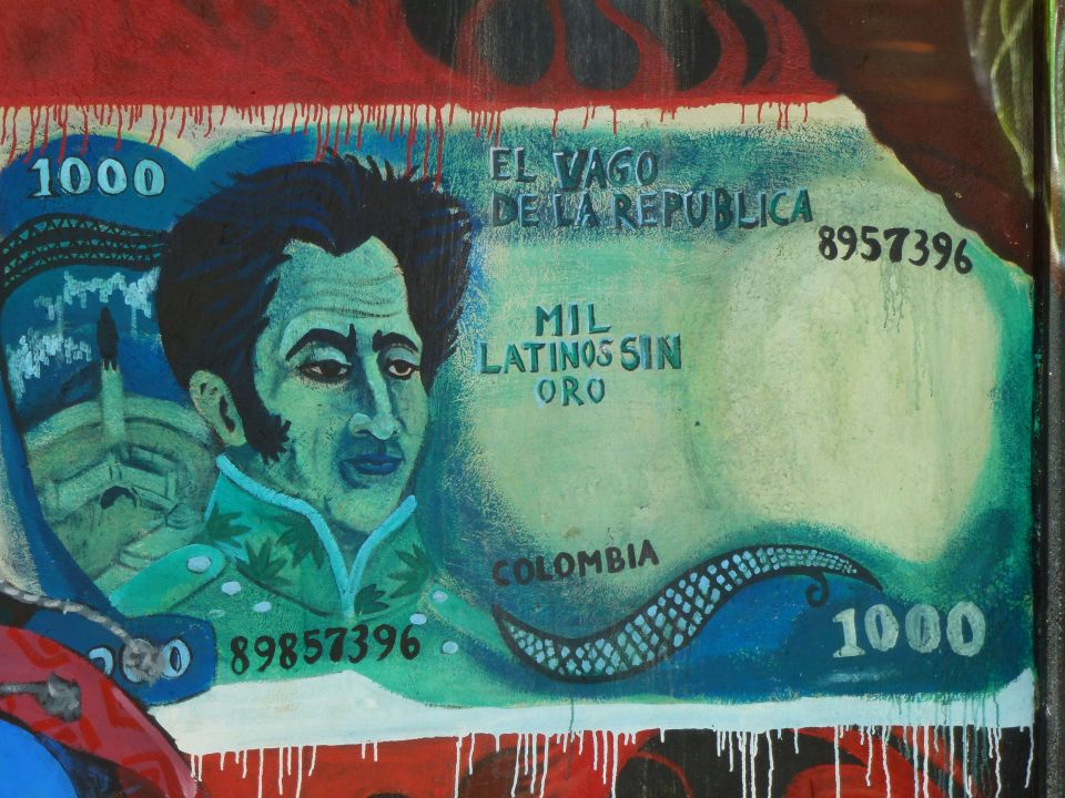 Bank note 'Mil Latinos sin oro'