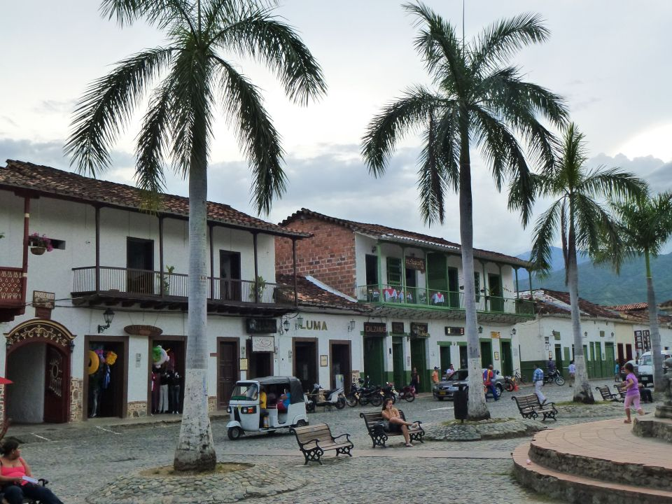 Main square, Santa Fe de Antioquioa