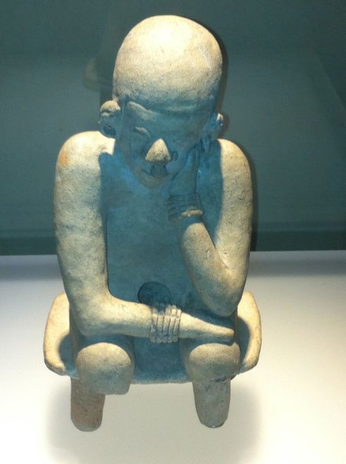 thinker bogota museo de oro