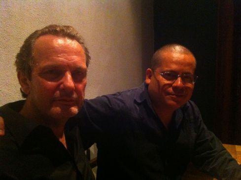 Blanco with Julián Herbert