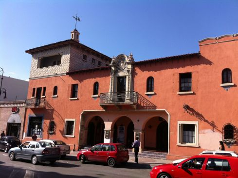 The former Hotel Arizpe Sáinz, where Edward Hopper stayed on his visits to Saltillo
