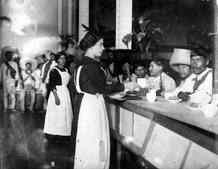 Zapatistas and waitresses