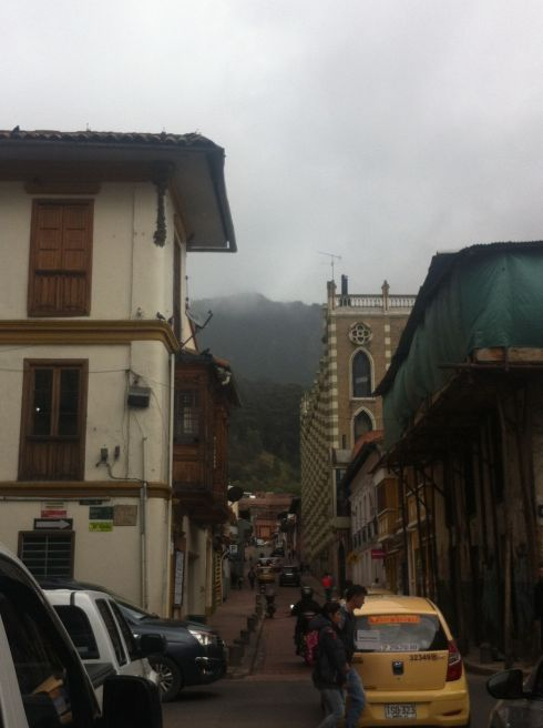 Bogota up the hill
