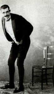 The French flatulist and entertainer Joseph Pujol, known as Le Pétomane.