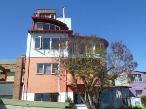 Neruda's house, 'La Sebastiana'.