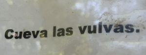 day1 cueva sign spanish
