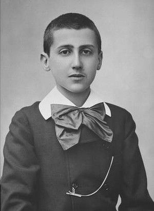The young Marcel Proust