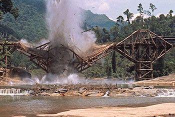blown bridge