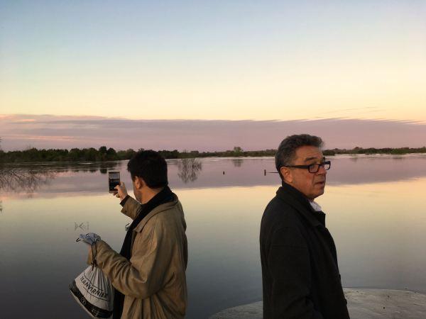 carlos and pedro by the rio san jose