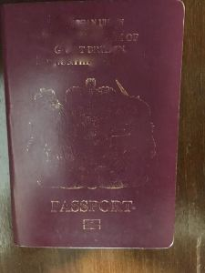 faded passport