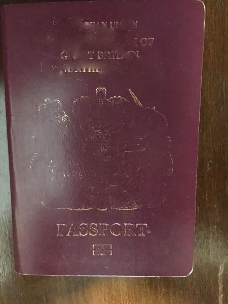 faded passport