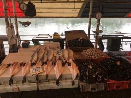 Valdivia fish stall