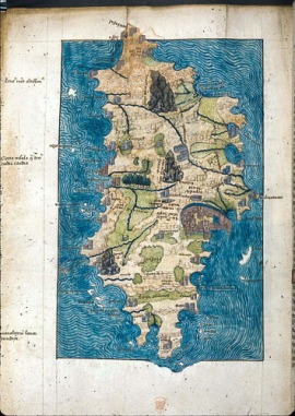 Buondelmonti map of crete