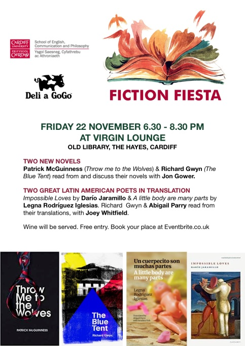 Fiction Fiesta 2019 poster